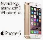 Nyerj egy iPhone 6-ot!