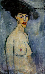 Obra de Modigliani.