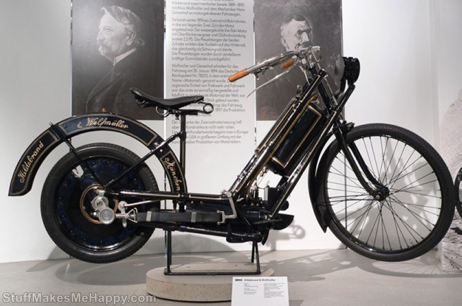 4. Hildebrand & Wolfmuller Motorcycle, Cost is 3,5 million USD
