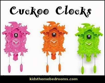 Decorating theme bedrooms maries manor fun and funky cute and colorful chic and trendy - Funky cuckoo clock ...