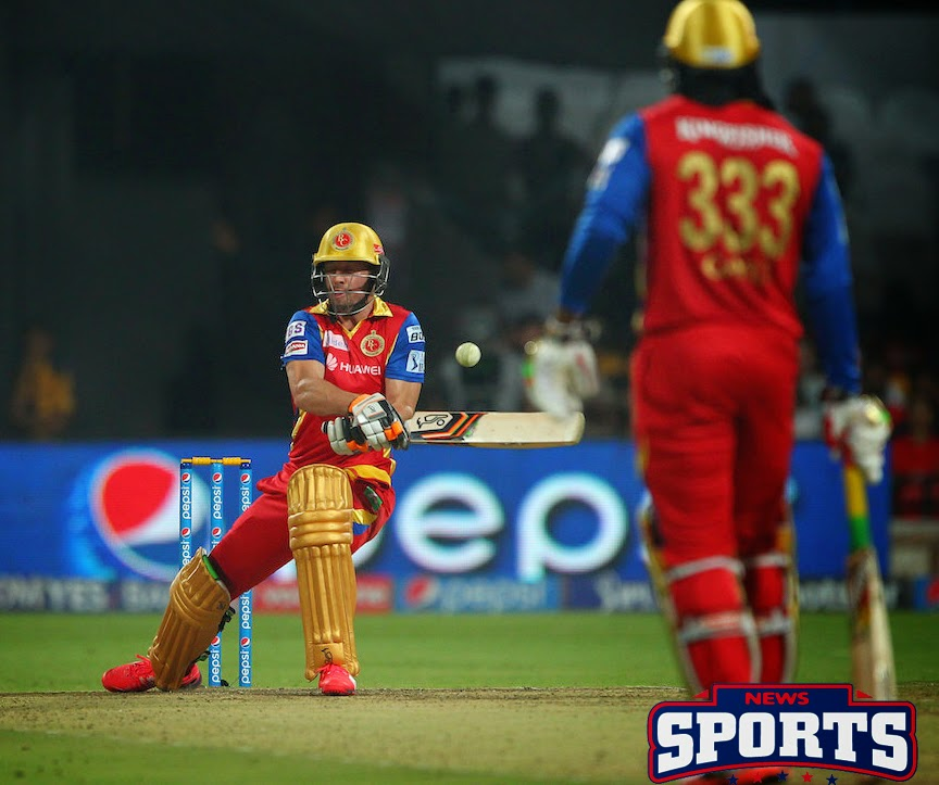 IPL 2015 40th match:  Royal Challengers Bangalore won by 138 runs