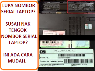 how to get serial number from laptop