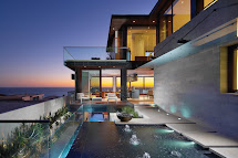 Modern Homes Beautiful Pool View Houses