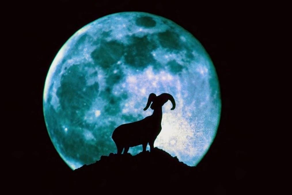 La Luna vista da Dalpe, adesso...