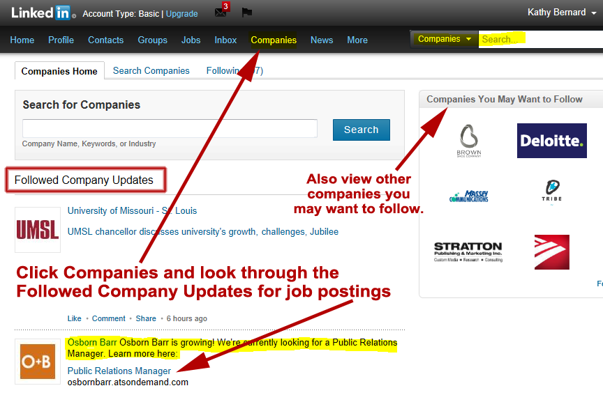 how to delete job update on linkedin
