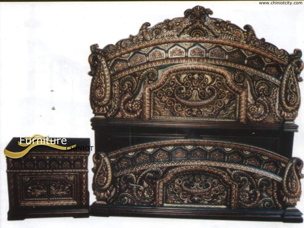buy heavy carved royal bedroom set in pakistan amp contact the