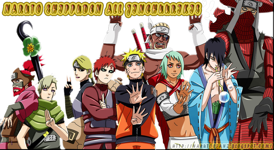 All Jinchuurikis in Naruto Shippuden