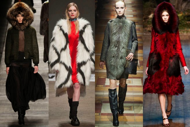 Fur fall fashion trend