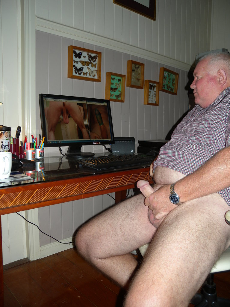 grandpa gay porn old man