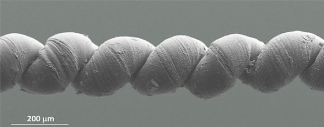 nanotechnology yarn behaves like muscle