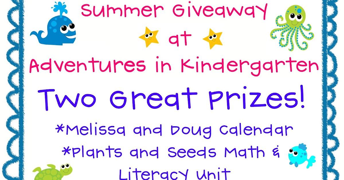 adventures in kindergarten giveaway. Black Bedroom Furniture Sets. Home Design Ideas