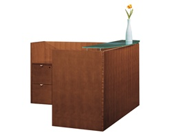 Jade Reception Desk by Cherryman