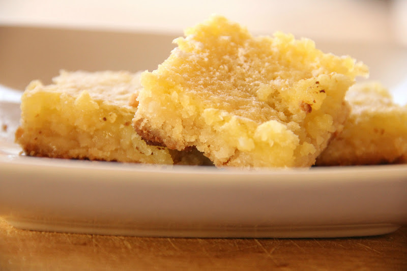 My Happy Place: {coconut crusted} lemon bars
