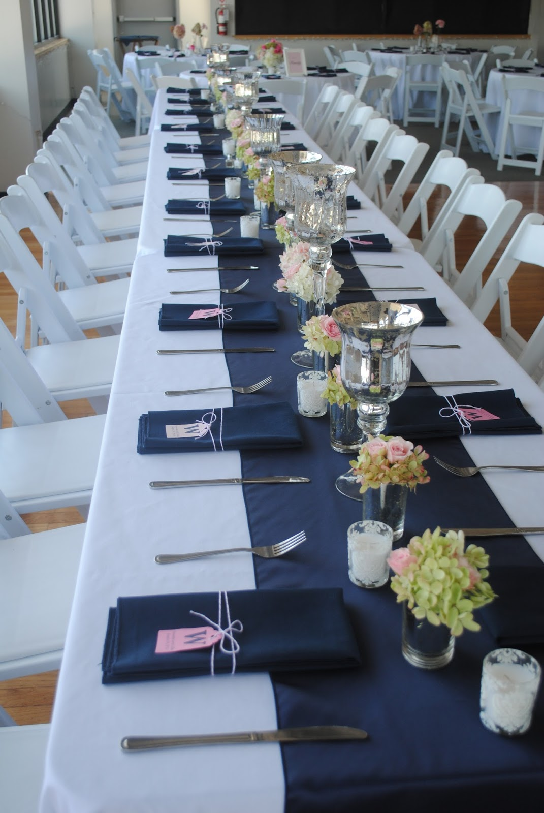 Jackie Fo Amanda And Collins Preppy Navy Pink Wedding