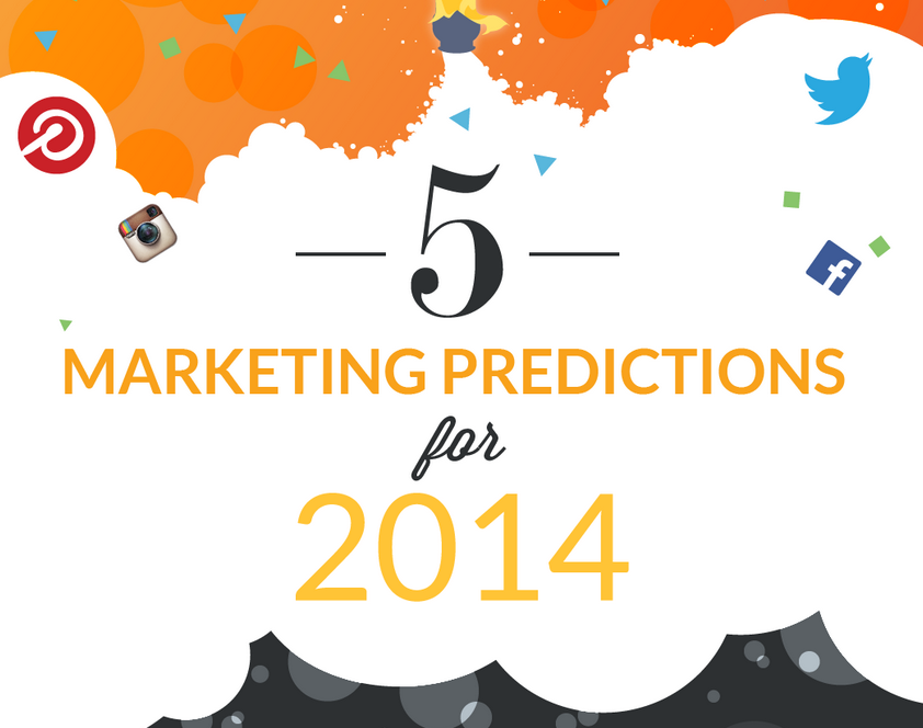 2014′s Must-Have Resolutions for Marketers - infographic