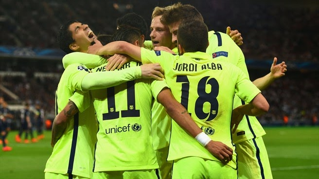 Highlights PSG 1 – 3 Barcelona (Champions League)