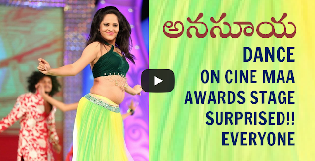 ANASUYA CINE MAA AWARDS DANCE VIDEO 2015