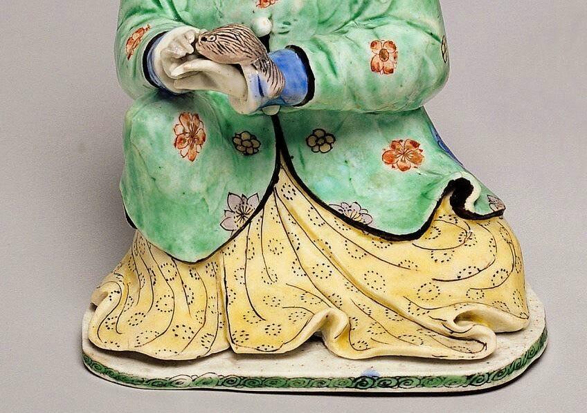 "<img src=""Chinese Female Biscuit figure .jpg"" alt="" Famille verte enamels"">"