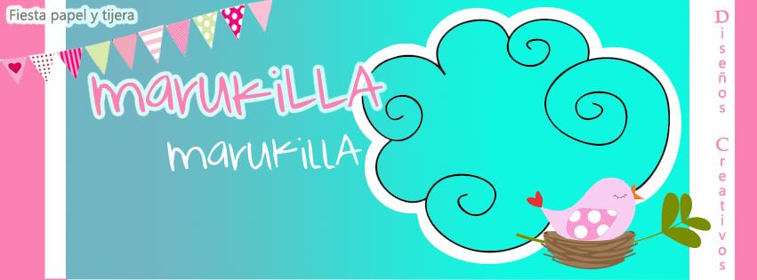 Fiesta Papel y Tijera  Diseños Marukilla marukilla
