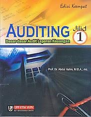 toko buku rahma: buku auditing, pengarang abdul halim, penerbit UPP STIM YKPN