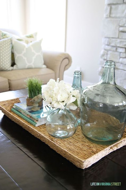 Decorating with Glass Vases and Carboys