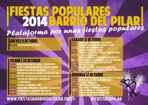 Fiestas 2014 El Pilar