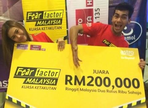 Pemenang Fear Factor Malaysia Musim 2, Juara Fear Factor Malaysia 2  Erin Malek dan Redha Pemenang tempat ke-2 Fear Factor Malaysia 2 Nas T dan Khairul Pemenang tempat ke-3 Fear Factor Malaysia 2  Shuib dan Zakaria Pemenang tempat ke-4 Fear Factor Malaysia 2  Azura dan Rechel