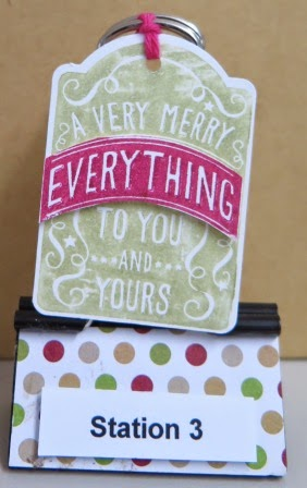Note tag punch  studio and catalogue launch zena kennedy independent stampin up demonstrator