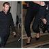 الفيديو.. ديفيد بيكهام يغادر حفل خاص بعد تبول زوجته فى ملابسها
