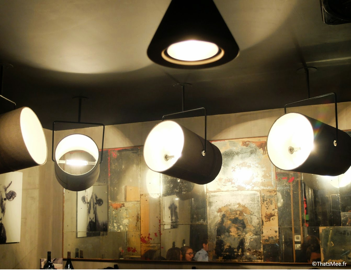 Déco lights lumières Restaurant Atelier Vivanda Akrame Paris spécialités viandes