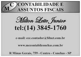 MC CONTABILIDADE E ASSUNTOS FISCAIS EM CONCHAS SP