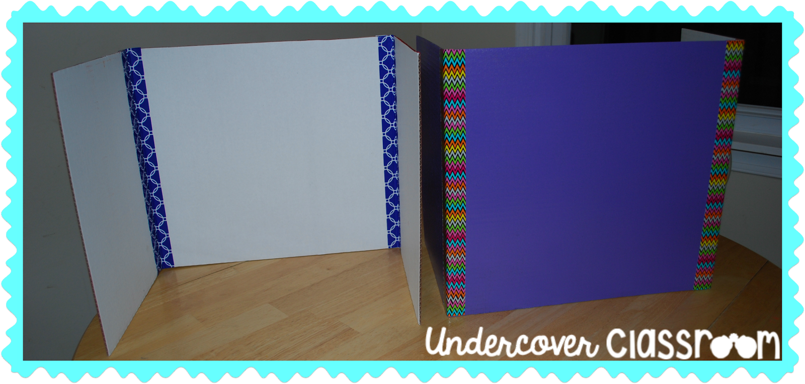 Do It Yourself Privacy Folders Undercover Classroom