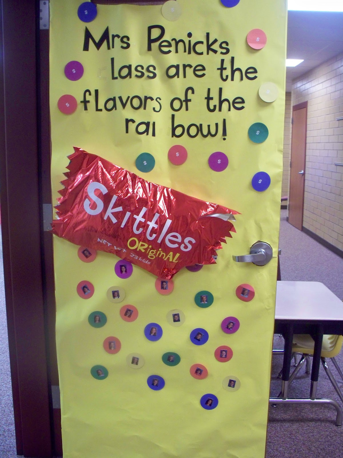 Room mom 101 candy themed door decorations for M m door decorations