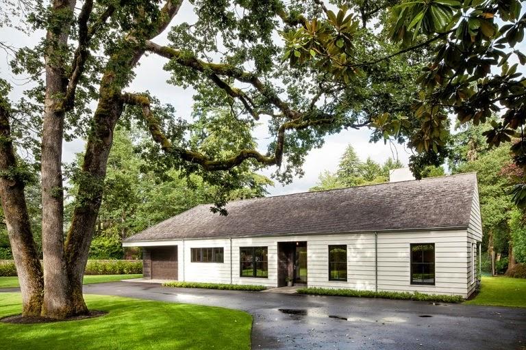 Ivonne sempr n una casa de campo nada extravagante en for House plans portland oregon