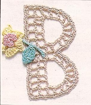El abecedario a Crochet o Ganchillo
