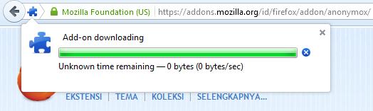 Membuka Situs Yang Diblokir Pada Browser Mozilla Firefox