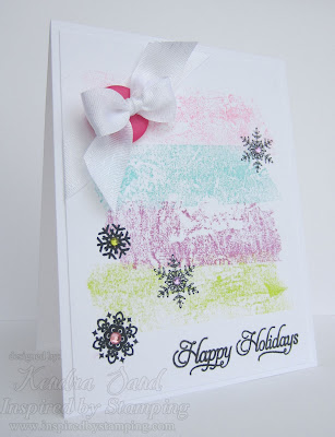 Inspired by Stamping, Kendra Sand, Winter Wonderland, Elegant Christmas Sentiments, Christmas Cards