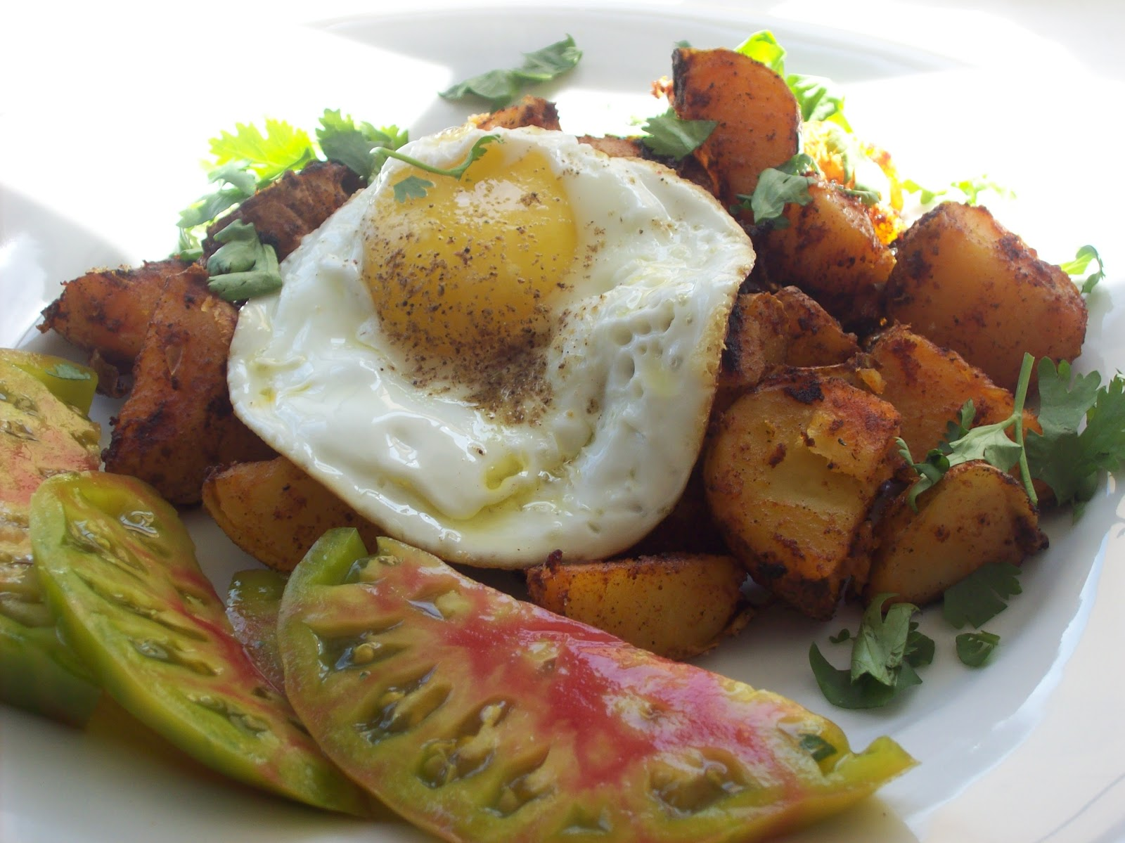 Napa Farmhouse 1885™ red chile breakfast potatoes
