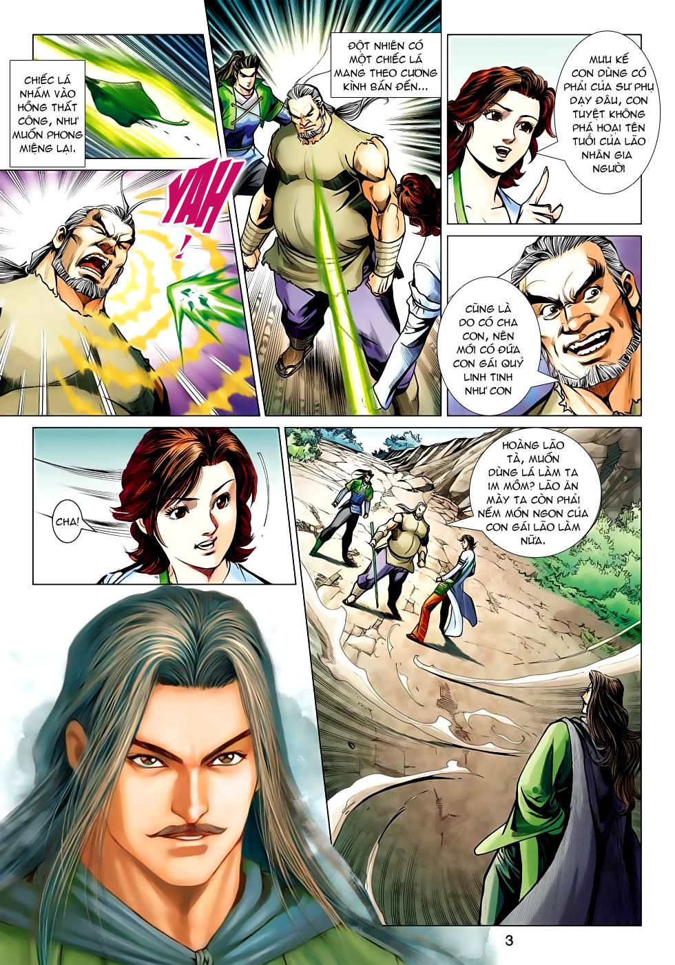 Xạ Điêu Anh Hùng Truyện chap 100 – End Trang 3 - Mangak.info