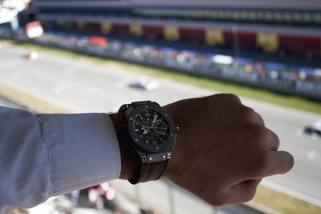 Hublot Ferrari Grey Ceramic