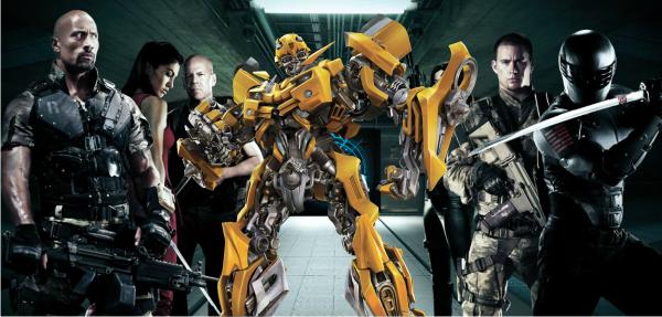 Produtor fala sobre a possibilidade de um crossover entre Transformers e G.I. Joe