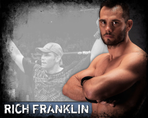 ufc mma middleweight fighter rich ace franklin picture image