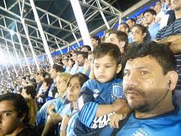 Con mi hijo Lautaro