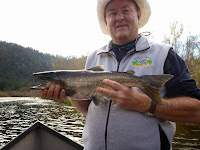 salmon and steelhead fishing in california and oregon with Ironhead Guide Service