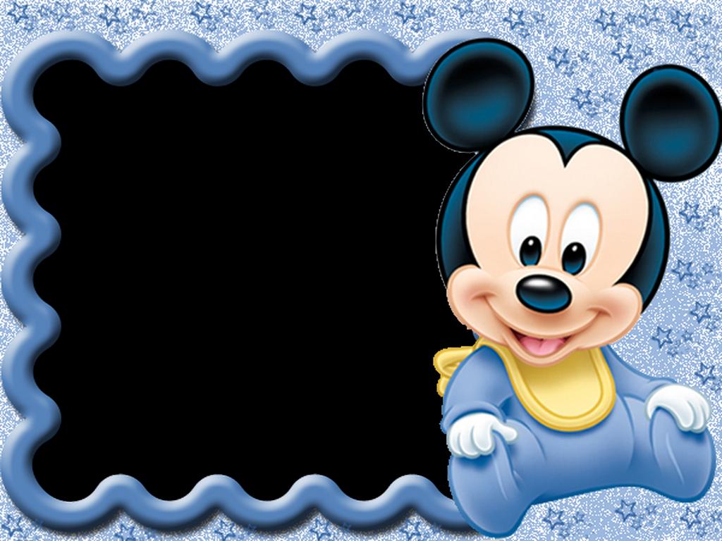 Marcos de Fotos PNG Disney Baby | Marcos Gratis para Fotografías.
