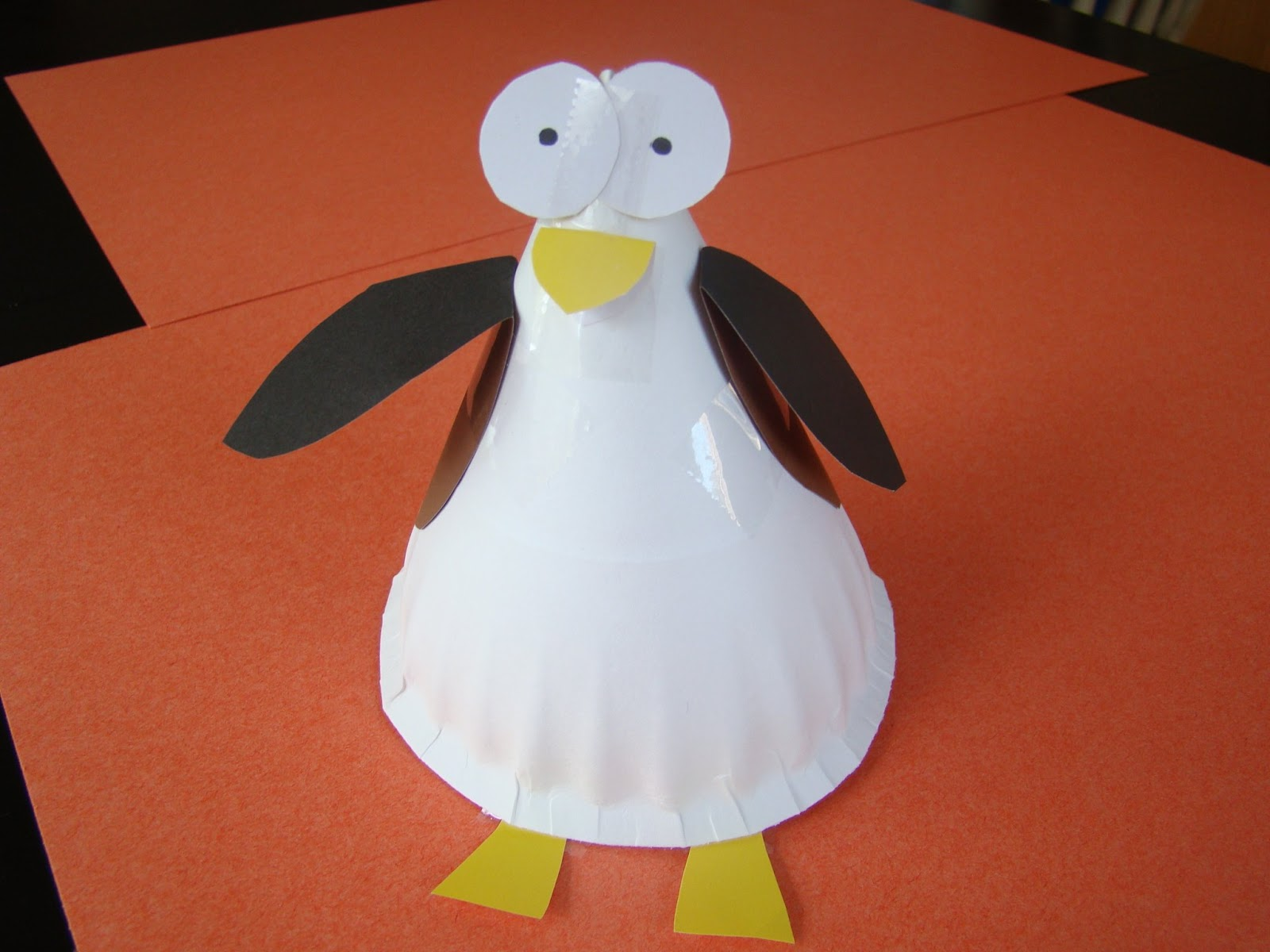 Tacky the penguin craft reading confetti for Penguin project