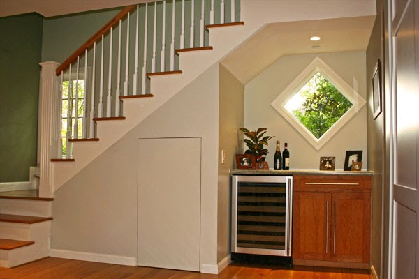 Shelves Understairs ~ Interior Design Inspirations for Small Houses