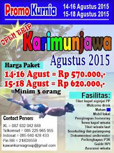 Paket Promo Karimun jawa Agustus 2015
