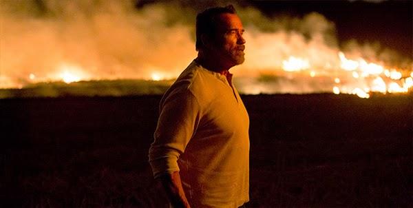 Arnold Schwarzenegger  en Maggie