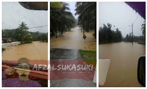 Foto Kejadian Terkini Banjir Di Terengganu